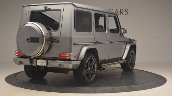 Used 2016 Mercedes Benz G-Class G 63 AMG for sale Sold at Alfa Romeo of Greenwich in Greenwich CT 06830 7