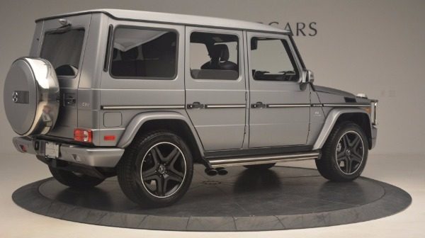 Used 2016 Mercedes Benz G-Class G 63 AMG for sale Sold at Alfa Romeo of Greenwich in Greenwich CT 06830 8