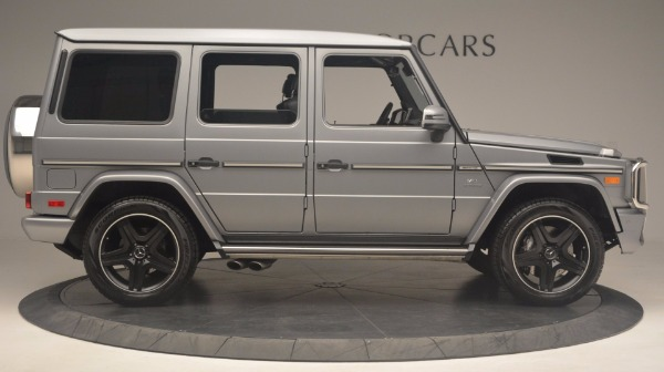 Used 2016 Mercedes Benz G-Class G 63 AMG for sale Sold at Alfa Romeo of Greenwich in Greenwich CT 06830 9