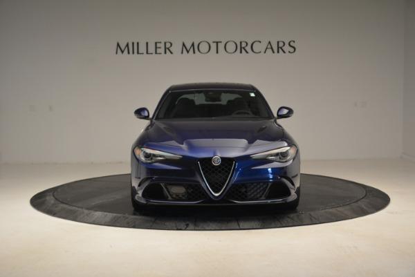 Used 2017 Alfa Romeo Giulia Quadrifoglio for sale Sold at Alfa Romeo of Greenwich in Greenwich CT 06830 12