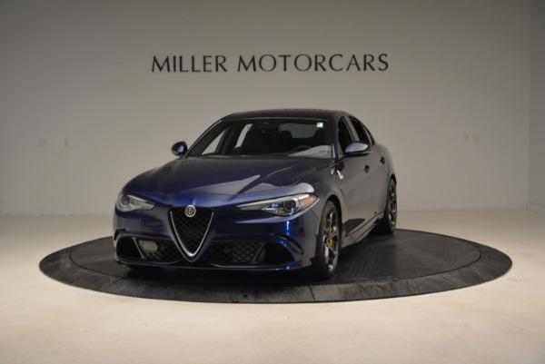 Used 2017 Alfa Romeo Giulia Quadrifoglio for sale Sold at Alfa Romeo of Greenwich in Greenwich CT 06830 1