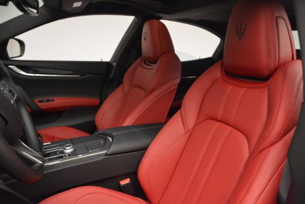 New 2017 Maserati Ghibli SQ4 for sale Sold at Alfa Romeo of Greenwich in Greenwich CT 06830 20