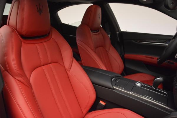 New 2017 Maserati Ghibli SQ4 for sale Sold at Alfa Romeo of Greenwich in Greenwich CT 06830 28