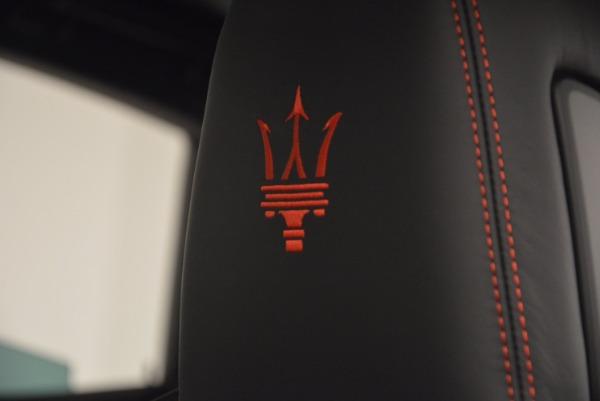 New 2017 Maserati Levante S Q4 for sale Sold at Alfa Romeo of Greenwich in Greenwich CT 06830 18