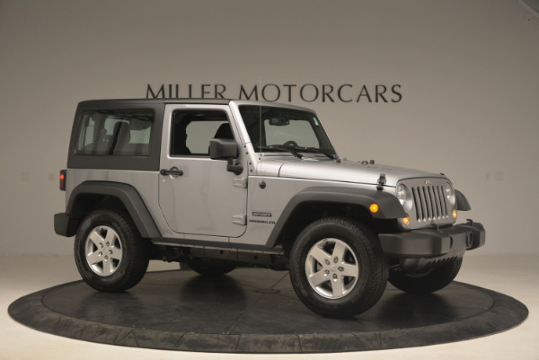 Used 2015 Jeep Wrangler Sport for sale Sold at Alfa Romeo of Greenwich in Greenwich CT 06830 10