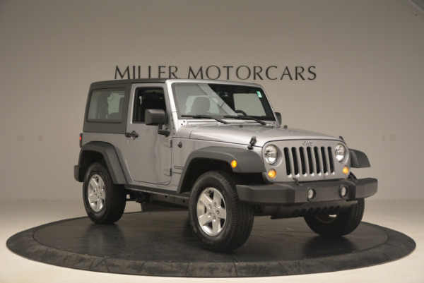 Used 2015 Jeep Wrangler Sport for sale Sold at Alfa Romeo of Greenwich in Greenwich CT 06830 11