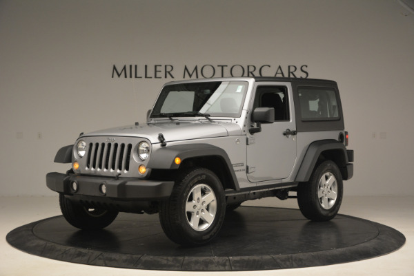 Used 2015 Jeep Wrangler Sport for sale Sold at Alfa Romeo of Greenwich in Greenwich CT 06830 2