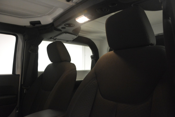 Used 2015 Jeep Wrangler Sport for sale Sold at Alfa Romeo of Greenwich in Greenwich CT 06830 20