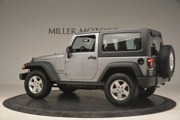 Used 2015 Jeep Wrangler Sport for sale Sold at Alfa Romeo of Greenwich in Greenwich CT 06830 4