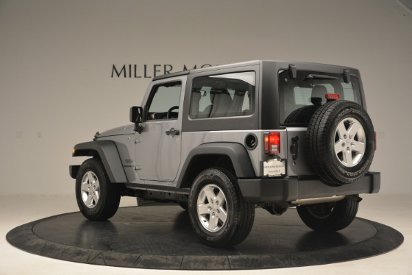 Used 2015 Jeep Wrangler Sport for sale Sold at Alfa Romeo of Greenwich in Greenwich CT 06830 5