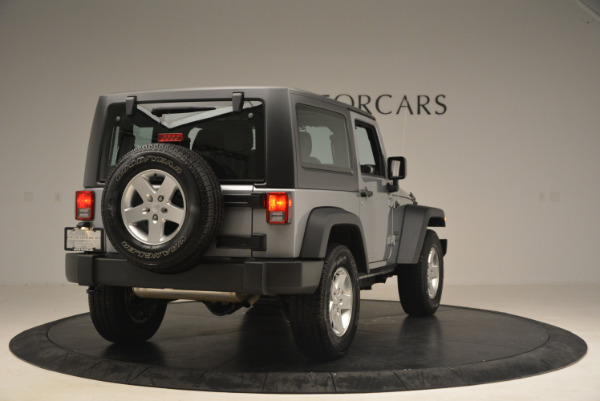 Used 2015 Jeep Wrangler Sport for sale Sold at Alfa Romeo of Greenwich in Greenwich CT 06830 7