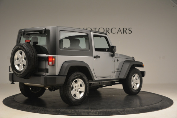 Used 2015 Jeep Wrangler Sport for sale Sold at Alfa Romeo of Greenwich in Greenwich CT 06830 8