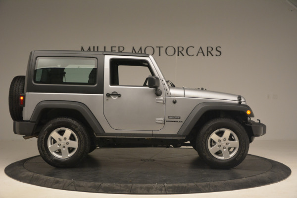 Used 2015 Jeep Wrangler Sport for sale Sold at Alfa Romeo of Greenwich in Greenwich CT 06830 9