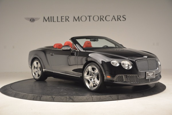 Used 2012 Bentley Continental GT W12 Convertible for sale Sold at Alfa Romeo of Greenwich in Greenwich CT 06830 10
