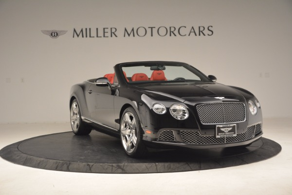 Used 2012 Bentley Continental GT W12 Convertible for sale Sold at Alfa Romeo of Greenwich in Greenwich CT 06830 11