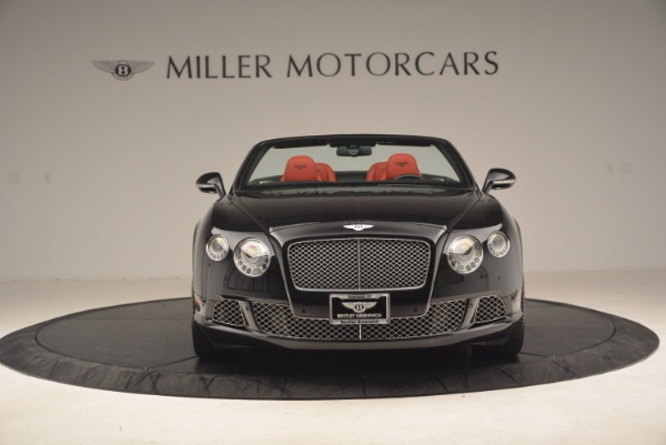 Used 2012 Bentley Continental GT W12 Convertible for sale Sold at Alfa Romeo of Greenwich in Greenwich CT 06830 12