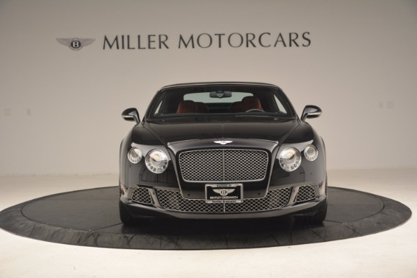 Used 2012 Bentley Continental GT W12 Convertible for sale Sold at Alfa Romeo of Greenwich in Greenwich CT 06830 13
