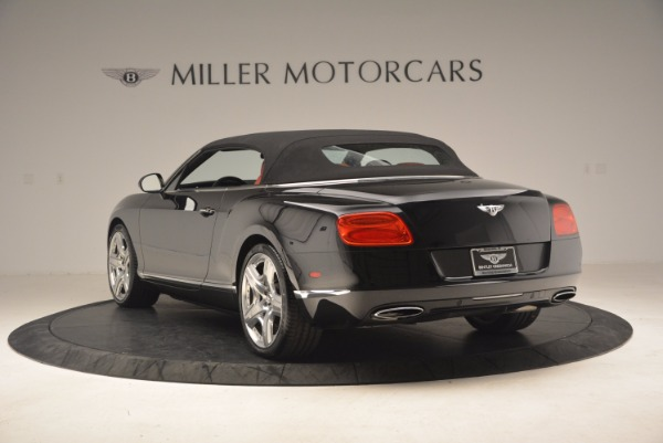 Used 2012 Bentley Continental GT W12 Convertible for sale Sold at Alfa Romeo of Greenwich in Greenwich CT 06830 18