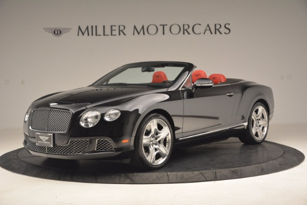 Used 2012 Bentley Continental GT W12 Convertible for sale Sold at Alfa Romeo of Greenwich in Greenwich CT 06830 2