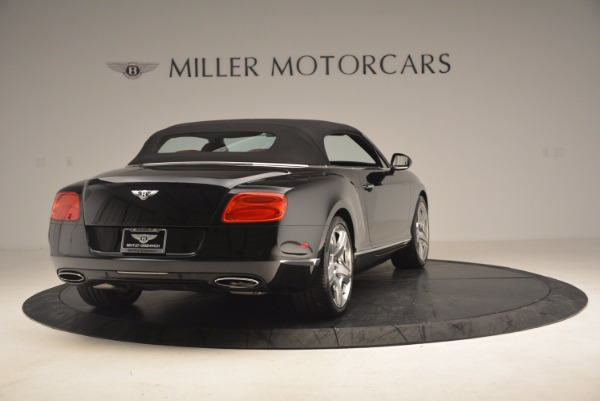 Used 2012 Bentley Continental GT W12 Convertible for sale Sold at Alfa Romeo of Greenwich in Greenwich CT 06830 20