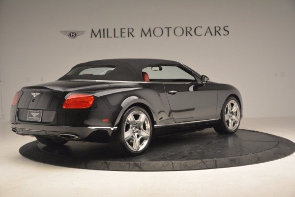 Used 2012 Bentley Continental GT W12 Convertible for sale Sold at Alfa Romeo of Greenwich in Greenwich CT 06830 21
