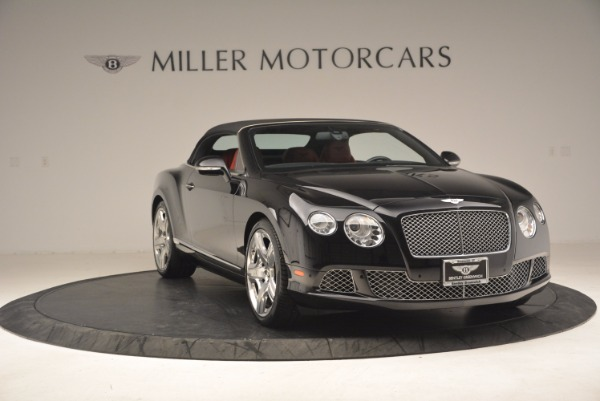 Used 2012 Bentley Continental GT W12 Convertible for sale Sold at Alfa Romeo of Greenwich in Greenwich CT 06830 24