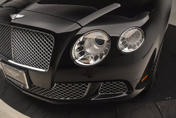 Used 2012 Bentley Continental GT W12 Convertible for sale Sold at Alfa Romeo of Greenwich in Greenwich CT 06830 27