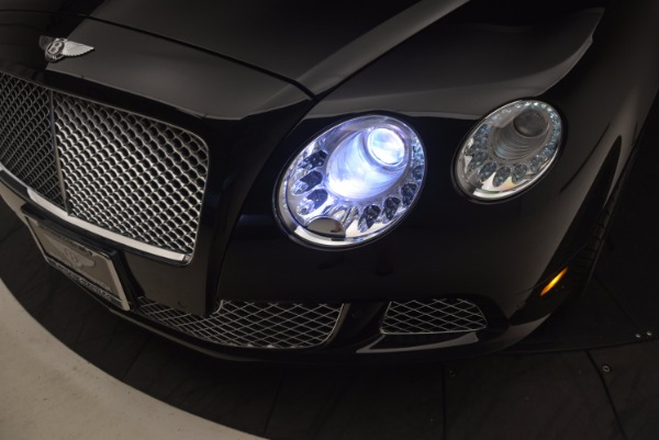 Used 2012 Bentley Continental GT W12 Convertible for sale Sold at Alfa Romeo of Greenwich in Greenwich CT 06830 28
