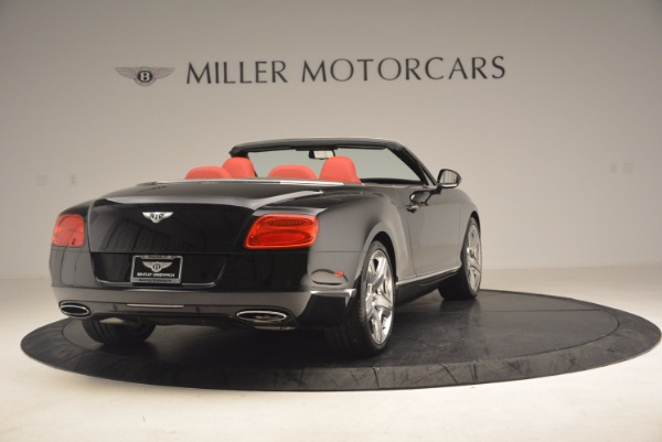 Used 2012 Bentley Continental GT W12 Convertible for sale Sold at Alfa Romeo of Greenwich in Greenwich CT 06830 7