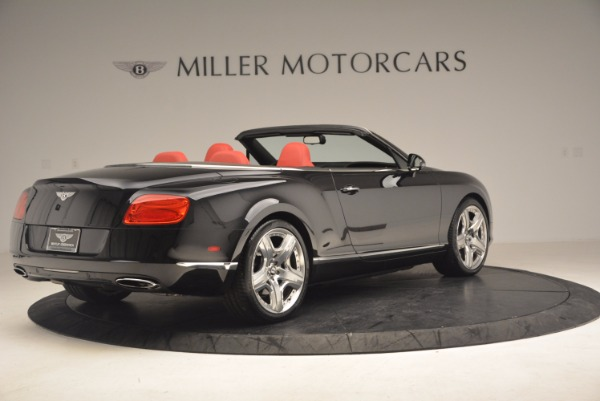 Used 2012 Bentley Continental GT W12 Convertible for sale Sold at Alfa Romeo of Greenwich in Greenwich CT 06830 8