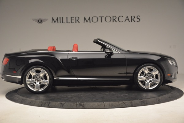 Used 2012 Bentley Continental GT W12 Convertible for sale Sold at Alfa Romeo of Greenwich in Greenwich CT 06830 9