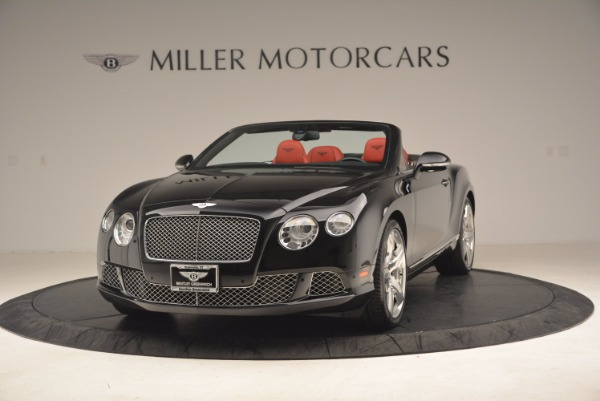 Used 2012 Bentley Continental GT W12 Convertible for sale Sold at Alfa Romeo of Greenwich in Greenwich CT 06830 1