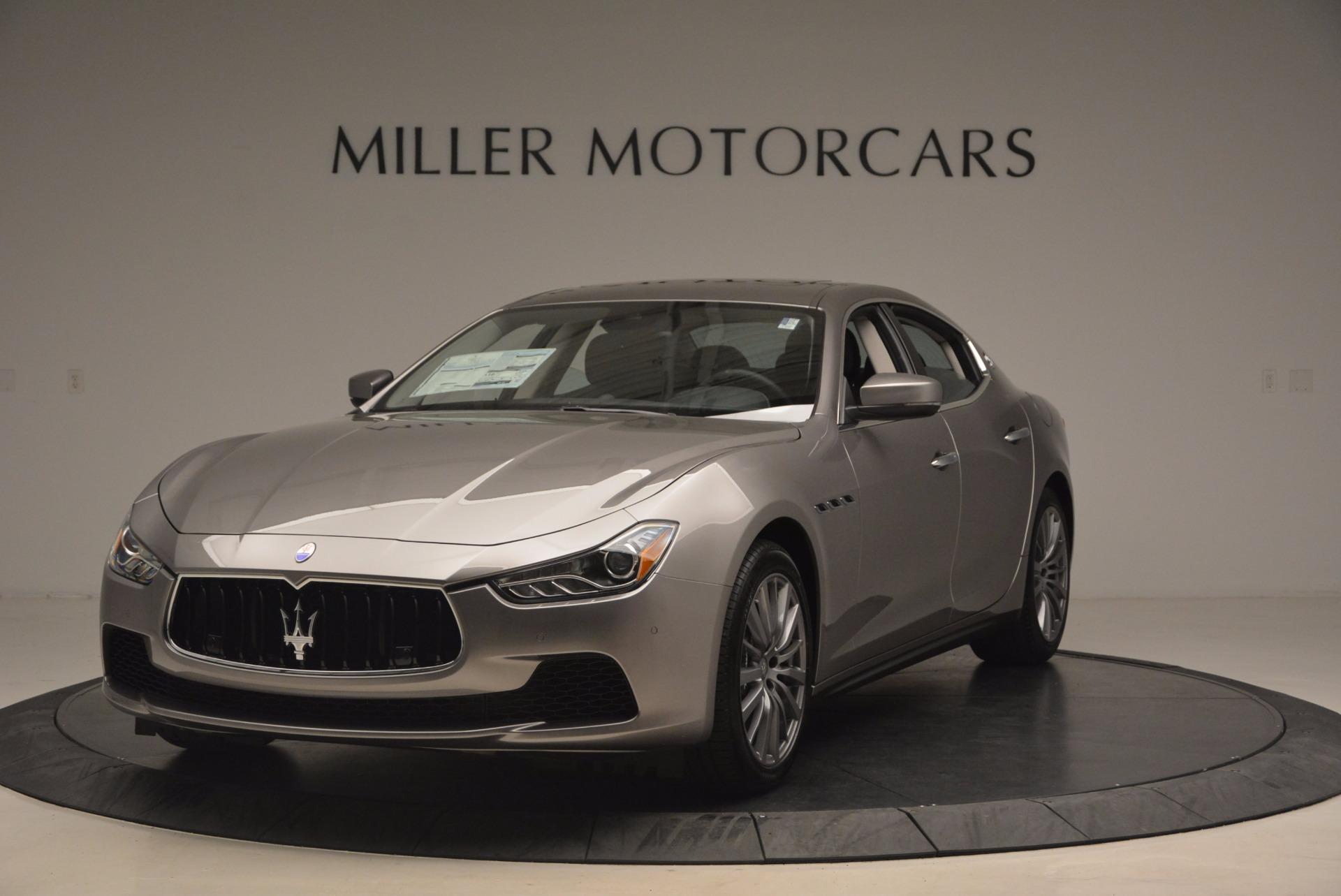 New 2017 Maserati Ghibli SQ4 for sale Sold at Alfa Romeo of Greenwich in Greenwich CT 06830 1