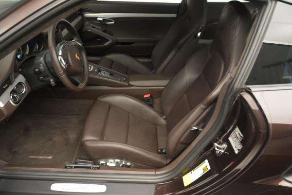 Used 2014 Porsche 911 Turbo for sale Sold at Alfa Romeo of Greenwich in Greenwich CT 06830 17