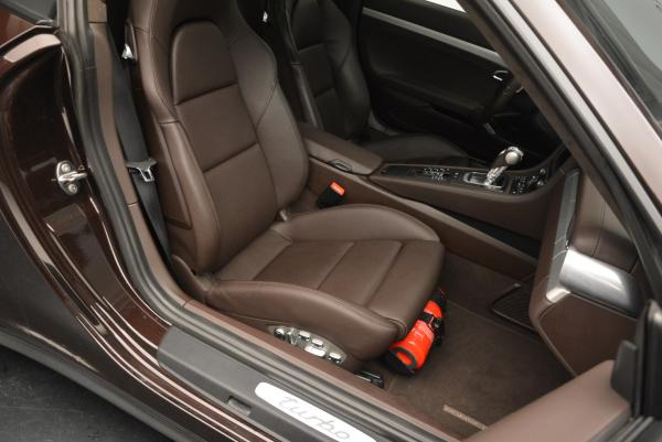 Used 2014 Porsche 911 Turbo for sale Sold at Alfa Romeo of Greenwich in Greenwich CT 06830 24