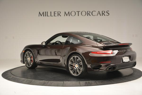 Used 2014 Porsche 911 Turbo for sale Sold at Alfa Romeo of Greenwich in Greenwich CT 06830 5