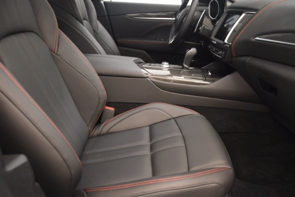 Used 2017 Maserati Levante S for sale Sold at Alfa Romeo of Greenwich in Greenwich CT 06830 21