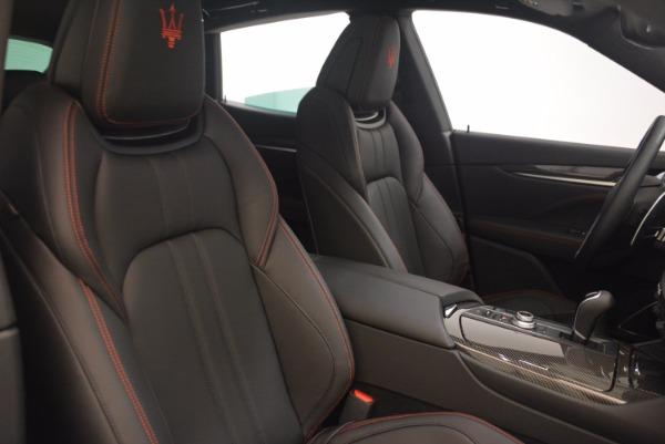Used 2017 Maserati Levante S for sale Sold at Alfa Romeo of Greenwich in Greenwich CT 06830 22