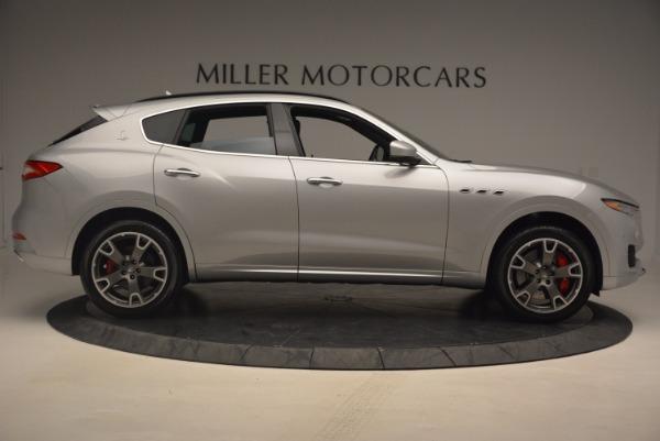 Used 2017 Maserati Levante S for sale Sold at Alfa Romeo of Greenwich in Greenwich CT 06830 9