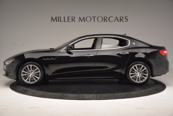 New 2017 Maserati Ghibli S Q4 EX-LOANER for sale Sold at Alfa Romeo of Greenwich in Greenwich CT 06830 3