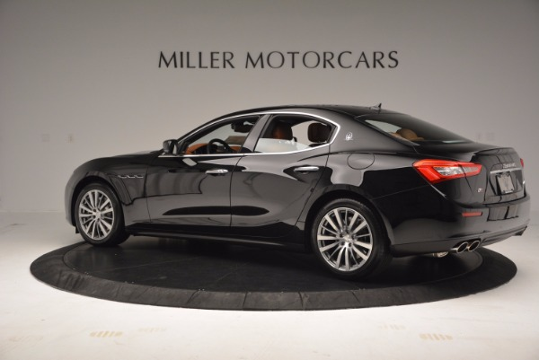 New 2017 Maserati Ghibli S Q4 EX-LOANER for sale Sold at Alfa Romeo of Greenwich in Greenwich CT 06830 4