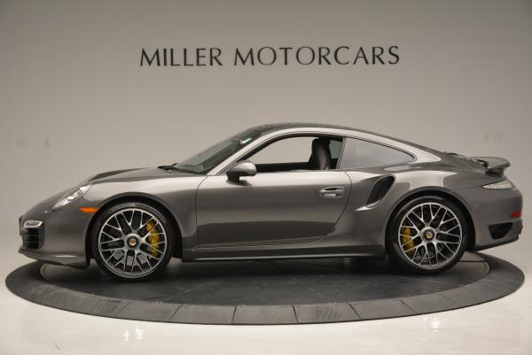 Used 2014 Porsche 911 Turbo S for sale Sold at Alfa Romeo of Greenwich in Greenwich CT 06830 3