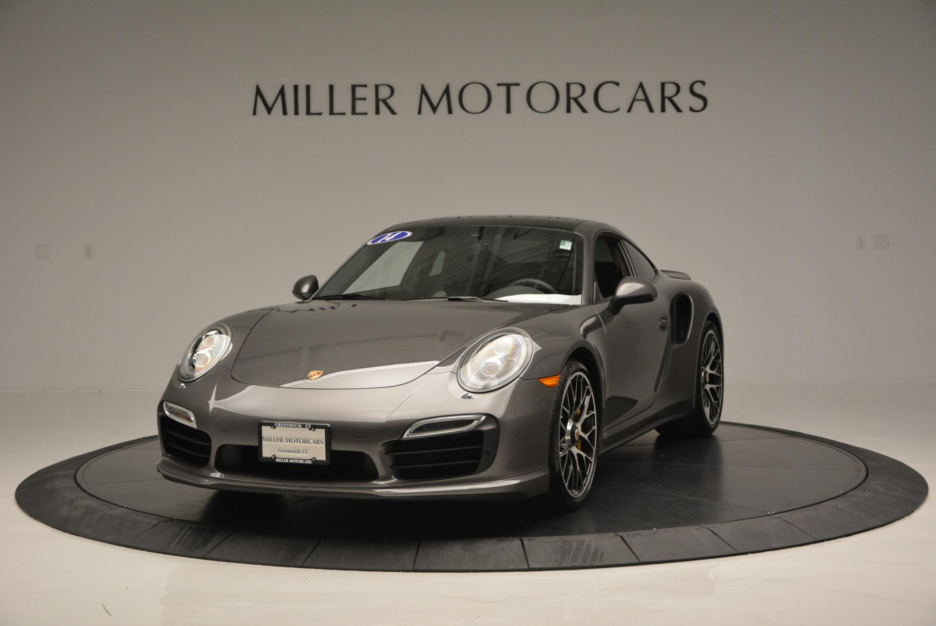 Used 2014 Porsche 911 Turbo S for sale Sold at Alfa Romeo of Greenwich in Greenwich CT 06830 1