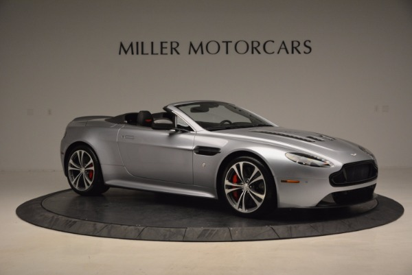 Used 2015 Aston Martin V12 Vantage S Roadster for sale Sold at Alfa Romeo of Greenwich in Greenwich CT 06830 10