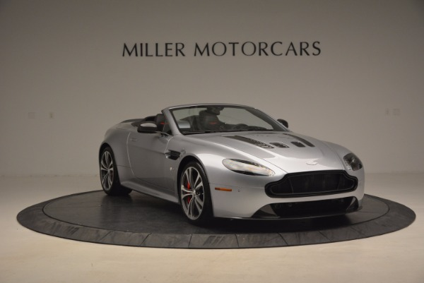 Used 2015 Aston Martin V12 Vantage S Roadster for sale Sold at Alfa Romeo of Greenwich in Greenwich CT 06830 11