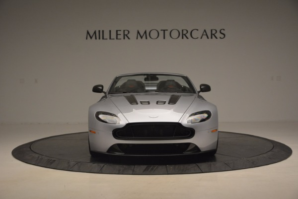 Used 2015 Aston Martin V12 Vantage S Roadster for sale Sold at Alfa Romeo of Greenwich in Greenwich CT 06830 12