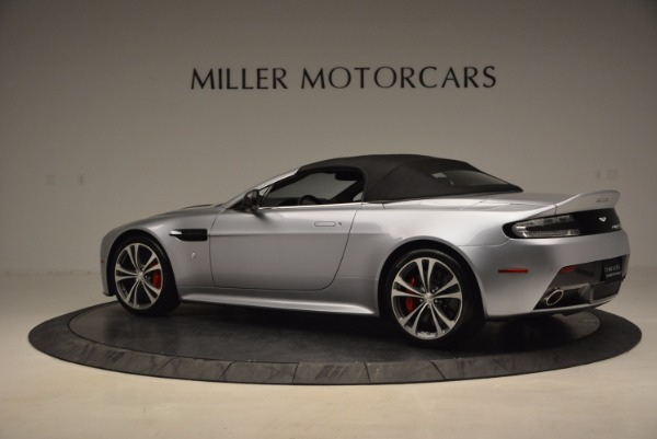 Used 2015 Aston Martin V12 Vantage S Roadster for sale Sold at Alfa Romeo of Greenwich in Greenwich CT 06830 16