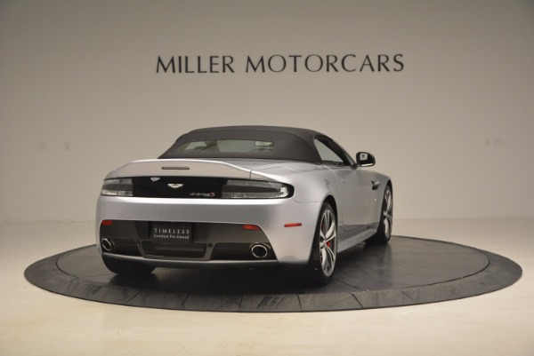Used 2015 Aston Martin V12 Vantage S Roadster for sale Sold at Alfa Romeo of Greenwich in Greenwich CT 06830 19