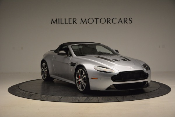 Used 2015 Aston Martin V12 Vantage S Roadster for sale Sold at Alfa Romeo of Greenwich in Greenwich CT 06830 23