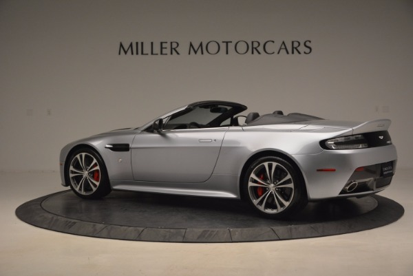 Used 2015 Aston Martin V12 Vantage S Roadster for sale Sold at Alfa Romeo of Greenwich in Greenwich CT 06830 4